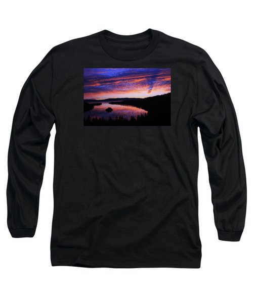Long Sleeve T-Shirt featuring the photograph Emerald Bay Awakens by Sean Sarsfield