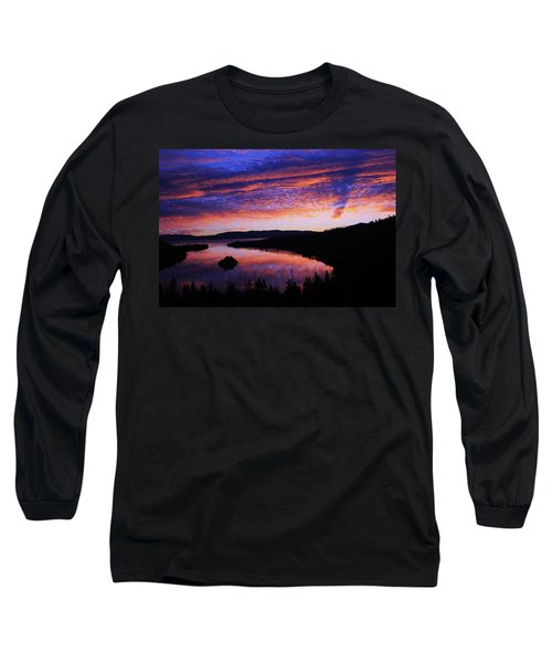Emerald Bay Awakens Long Sleeve T-Shirt