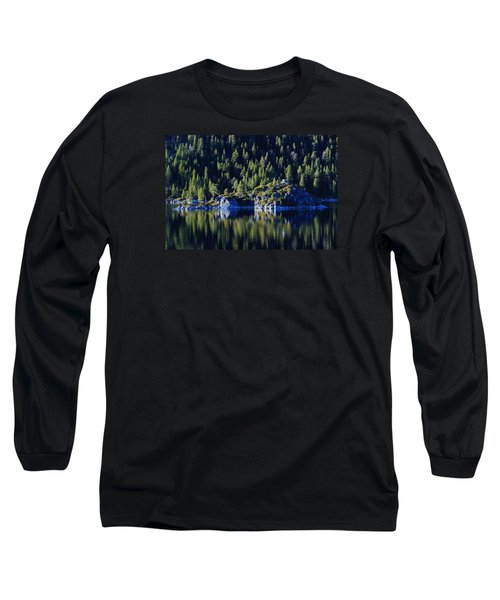Long Sleeve T-Shirt featuring the photograph Emerald Bay Teahouse by Sean Sarsfield