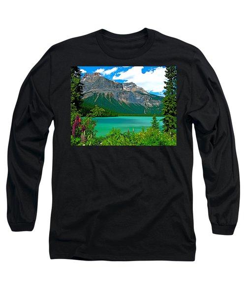 Emerald Lake In Yoho Np-bc Long Sleeve T-Shirt