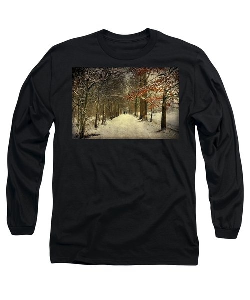 Enchanting Dutch Winter Landscape Long Sleeve T-Shirt