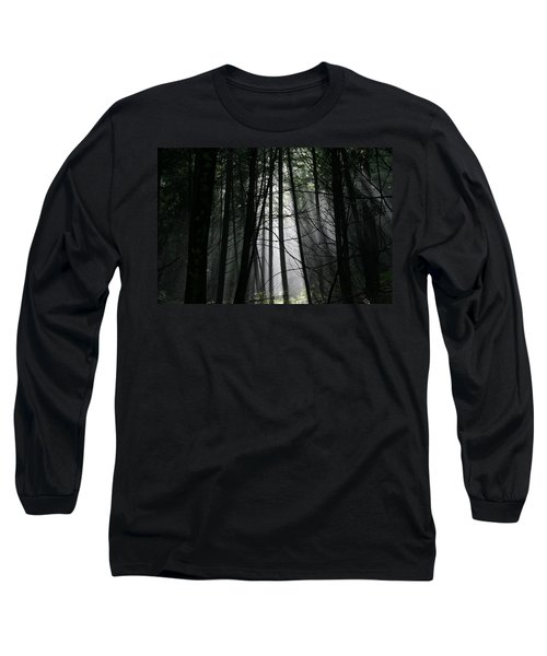 Encounter Of The Vermont Kind No.2 Long Sleeve T-Shirt
