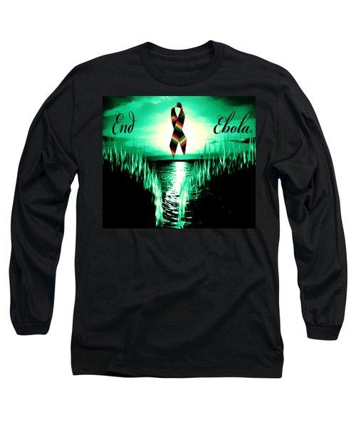 End Ebola Long Sleeve T-Shirt