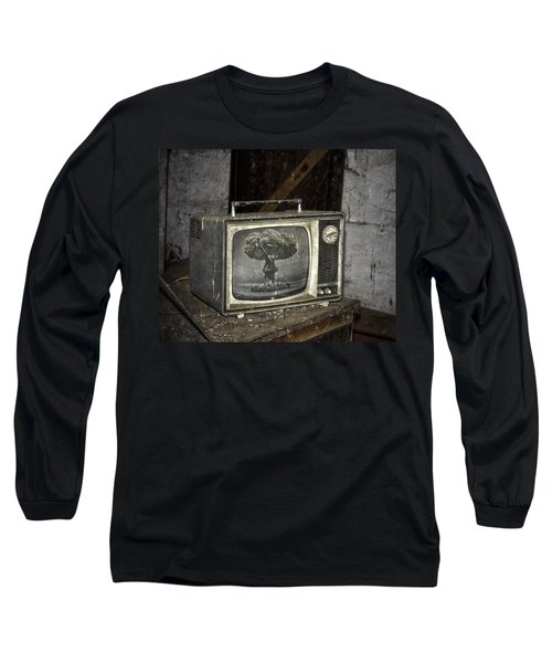 End Of The Show  Long Sleeve T-Shirt by Jerry Cordeiro