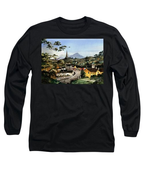 Enniskerry Panorama Wicklow Long Sleeve T-Shirt