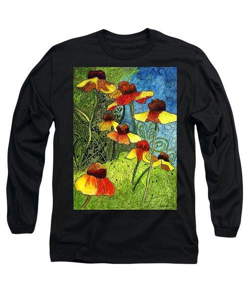 Entangled Garden Long Sleeve T-Shirt