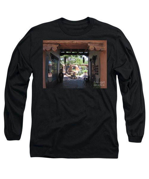 Long Sleeve T-Shirt featuring the photograph Entrance To Market Place by Dora Sofia Caputo Photographic Art and Design