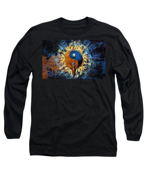 Equilibria Long Sleeve T-Shirt by Kenneth Armand Johnson