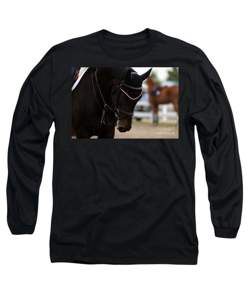 Equine Concentration Long Sleeve T-Shirt