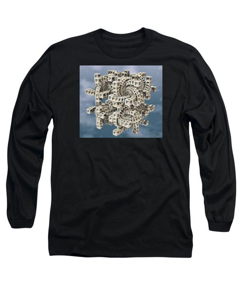 Escher's Construct Long Sleeve T-Shirt