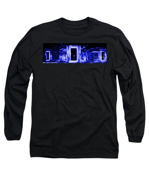 Ethereal Doorways Blue Long Sleeve T-Shirt