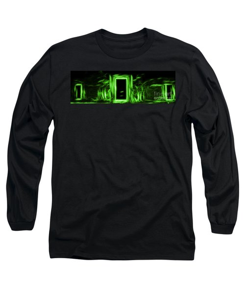 Ethereal Doorways Green Long Sleeve T-Shirt
