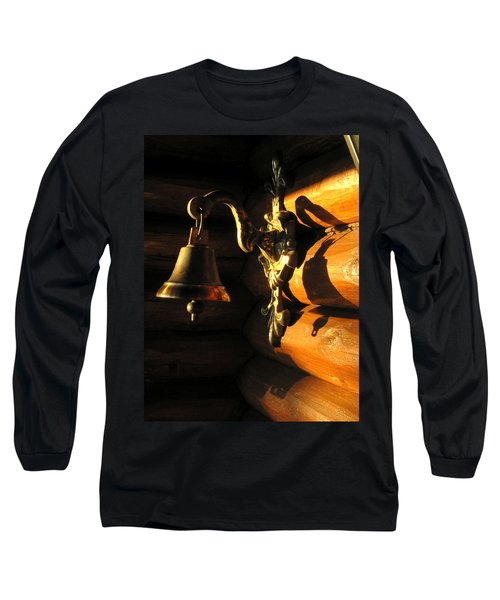 Long Sleeve T-Shirt featuring the photograph Evening Bell by Leena Pekkalainen