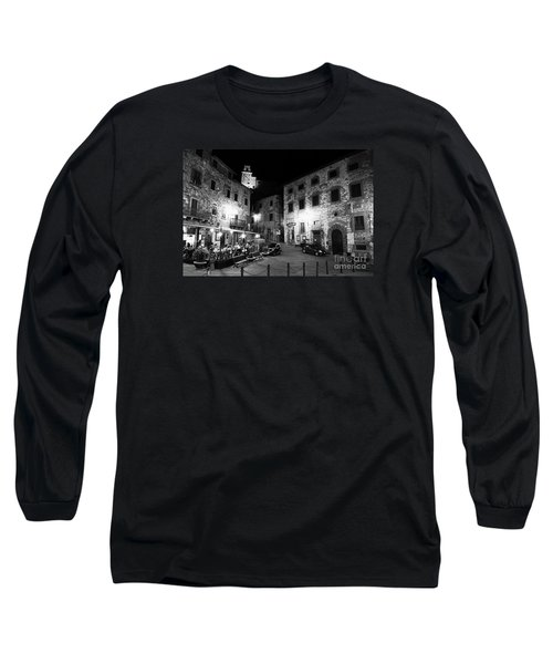 Evening In Tuscany Long Sleeve T-Shirt by Ramona Matei