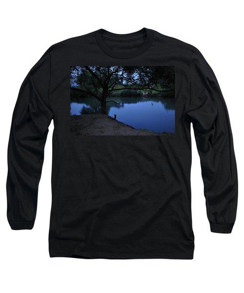 Evening Time At Kfar Blum Long Sleeve T-Shirt