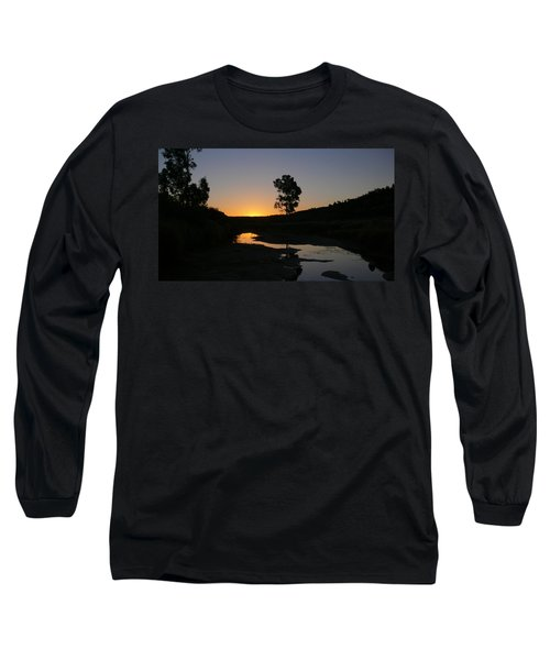 Long Sleeve T-Shirt featuring the photograph Evening Wonderland by Evelyn Tambour