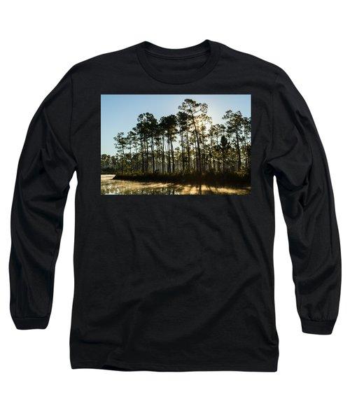 Everglades Sunrise Long Sleeve T-Shirt