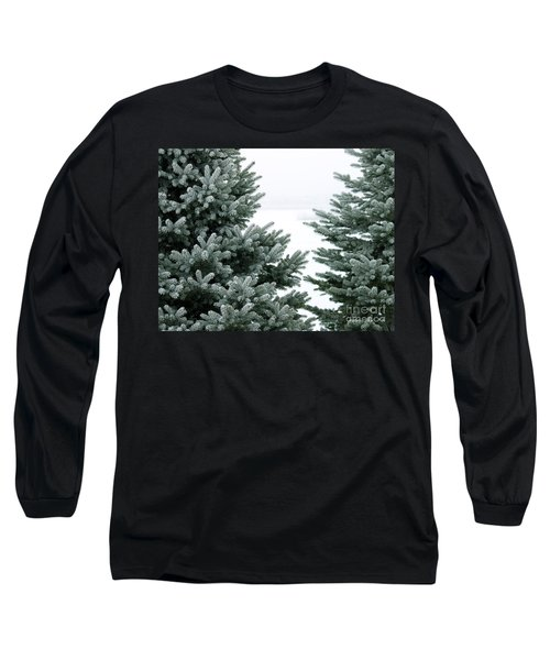 Evergreens Long Sleeve T-Shirt by Debbie Hart
