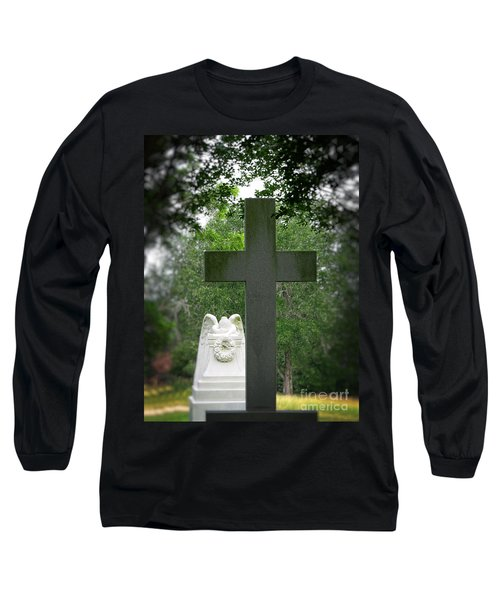 Long Sleeve T-Shirt featuring the painting Every Knee Shall Bow by Ella Kaye Dickey
