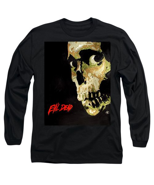 Evil Dead Skull Long Sleeve T-Shirt