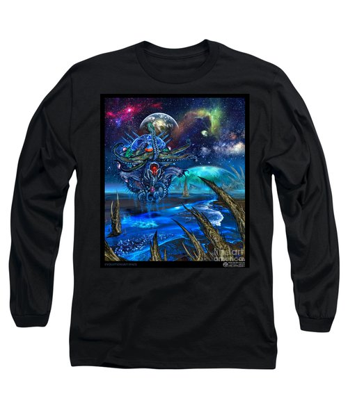 Evolutionary Space Long Sleeve T-Shirt
