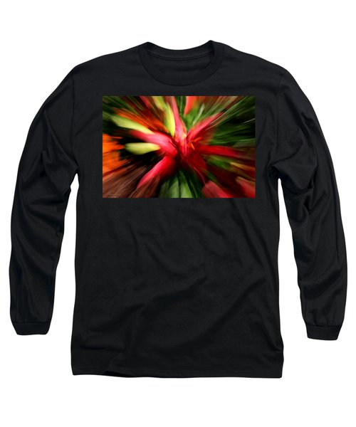 Exploding Lily Long Sleeve T-Shirt
