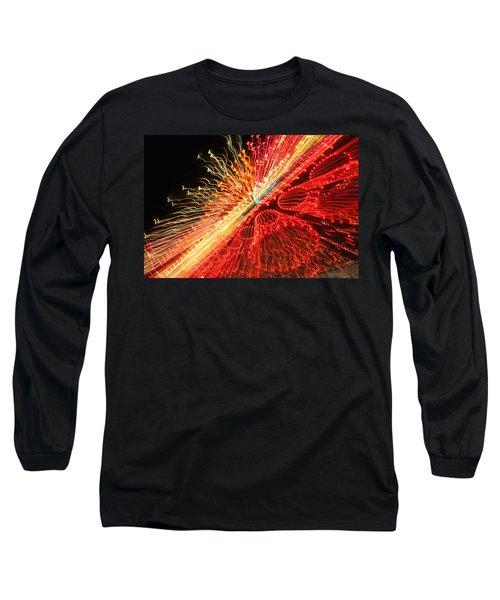 Exploding Neon Long Sleeve T-Shirt
