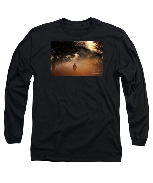 Explorer The Nature Long Sleeve T-Shirt by Manjot Singh Sachdeva
