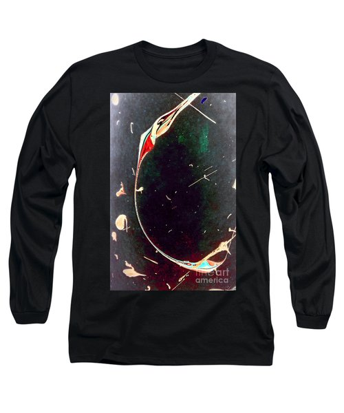 Long Sleeve T-Shirt featuring the painting Exploring New Depths by Jacqueline McReynolds