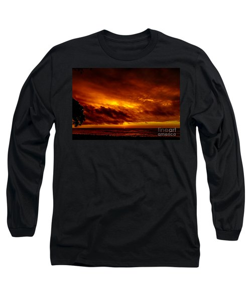 Explosive Morning Long Sleeve T-Shirt