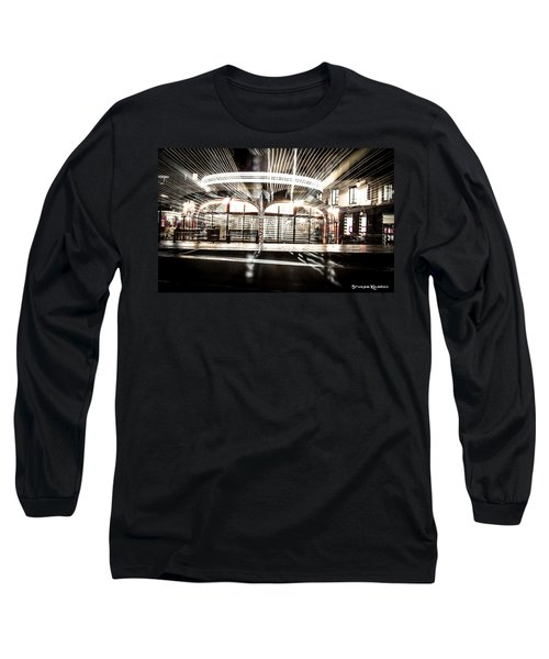Long Sleeve T-Shirt featuring the photograph Explozoom On A French Carousel by Stwayne Keubrick