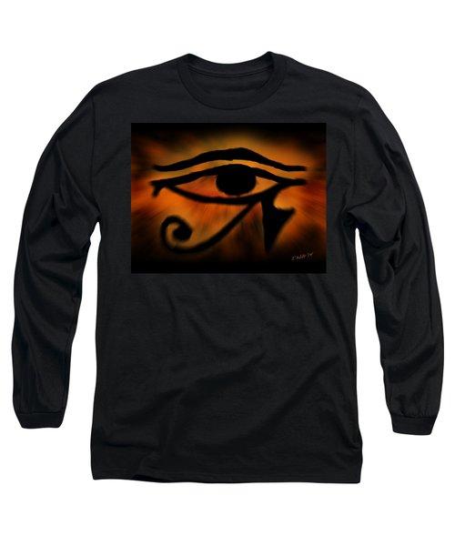 Eye Of Horus Eye Of Ra Long Sleeve T-Shirt
