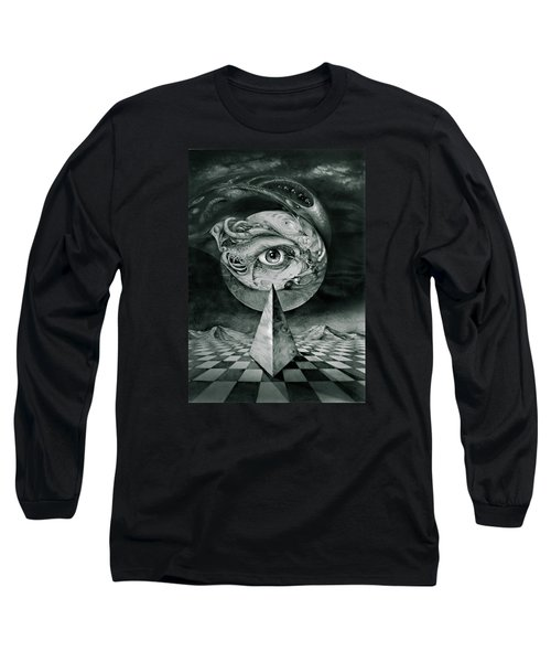 Eye Of The Dark Star Long Sleeve T-Shirt