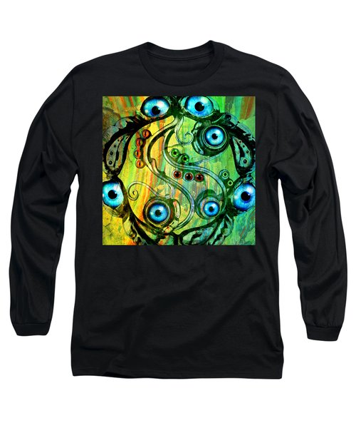 Eye Understand Long Sleeve T-Shirt by Ally  White