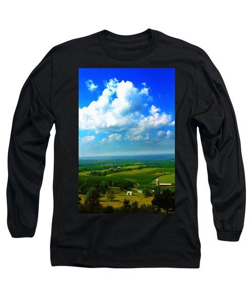 Eyes Over Farmland Long Sleeve T-Shirt