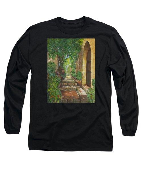 Eze Village Long Sleeve T-Shirt by Alika Kumar