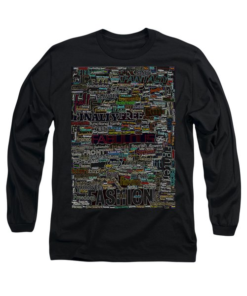 F - Words Long Sleeve T-Shirt