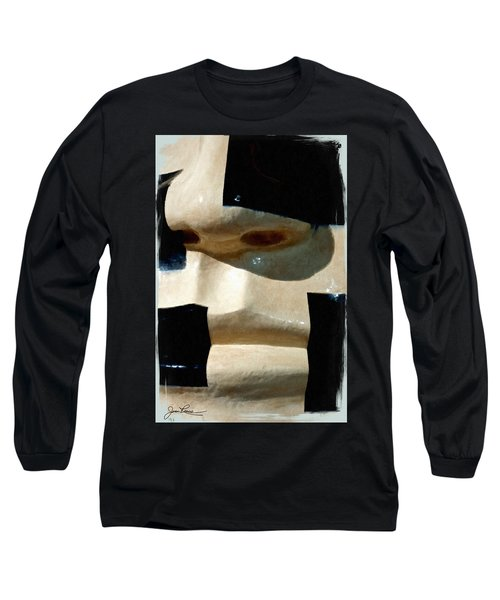 Long Sleeve T-Shirt featuring the painting Face On by Joan Reese