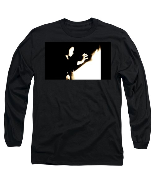 Long Sleeve T-Shirt featuring the photograph Faceless Magician  by Jessica Shelton
