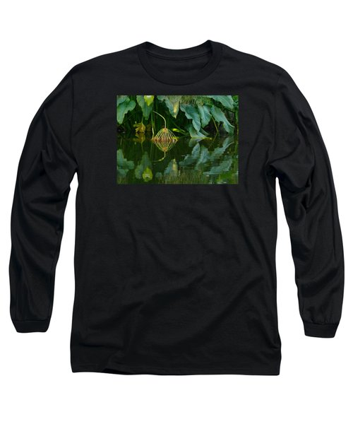 Long Sleeve T-Shirt featuring the photograph Fairy Pond by Evelyn Tambour