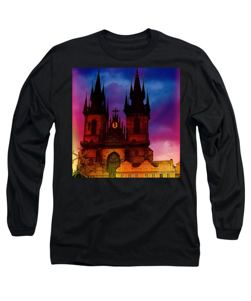 Fairy Tale Castle Prague Long Sleeve T-Shirt