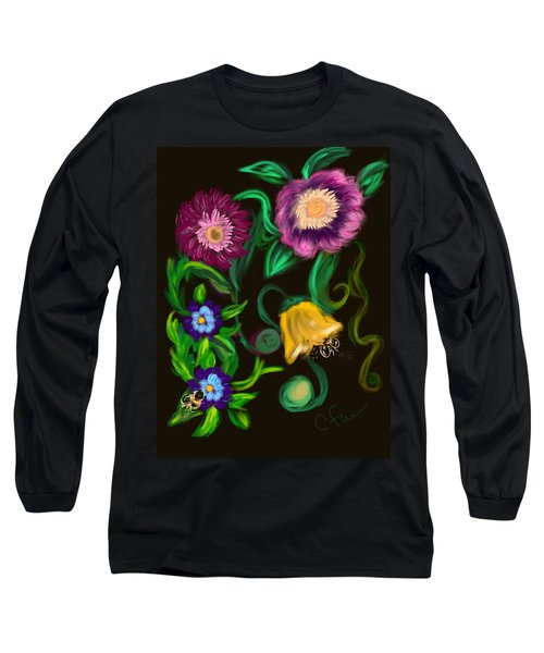 Fairy Tale Flowers Long Sleeve T-Shirt
