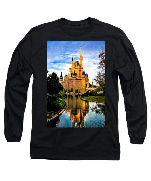 Fairy Tale Twilight Long Sleeve T-Shirt by Greg Fortier