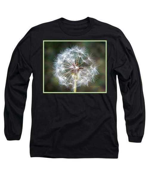 Long Sleeve T-Shirt featuring the photograph Fairy Umbrellas by Kathy Barney