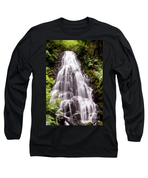 Long Sleeve T-Shirt featuring the photograph Fairy's Playground by Suzanne Luft
