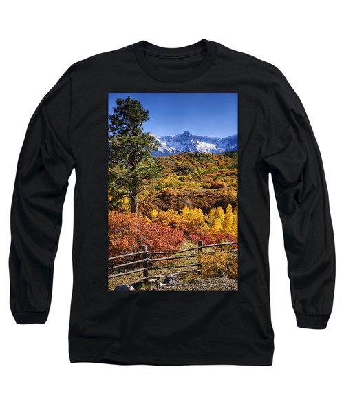 Fall At Dallas Divide Long Sleeve T-Shirt by Priscilla Burgers