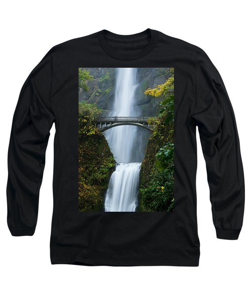Fall At Multnomah Falls Long Sleeve T-Shirt