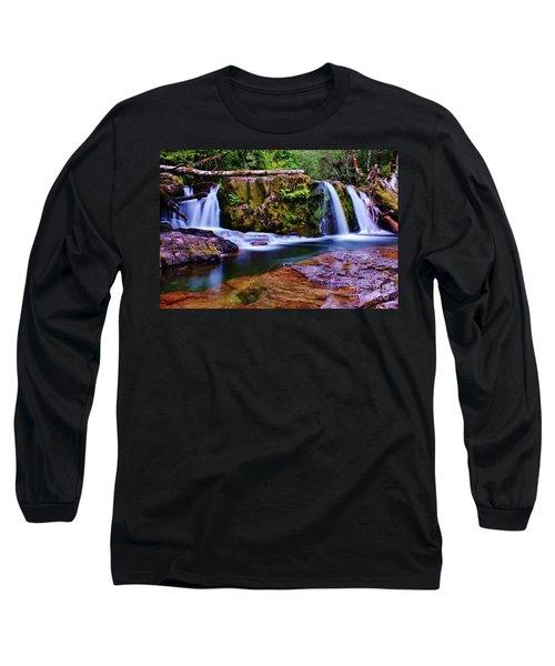 Fall Creek Oregon 3 Long Sleeve T-Shirt