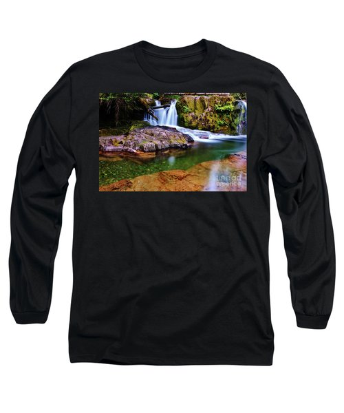 Fall Creek Oregon Long Sleeve T-Shirt