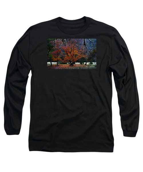 Fall Foliage At Lost Maples State Park  Long Sleeve T-Shirt